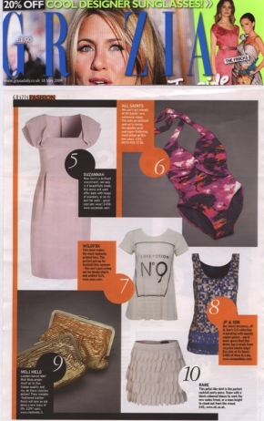 Wildfox in Grazia magazine!
