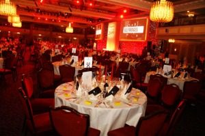 Drapers awards-tables