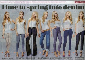 Daily Mail feature-Paige jeans