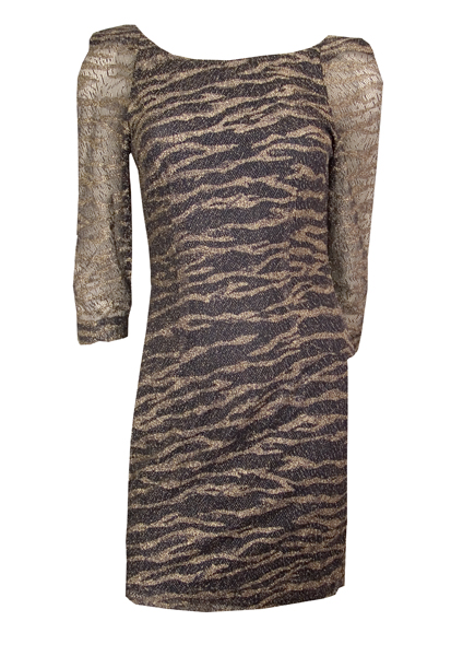 DesignersRemix-Lyrex Tiger dress