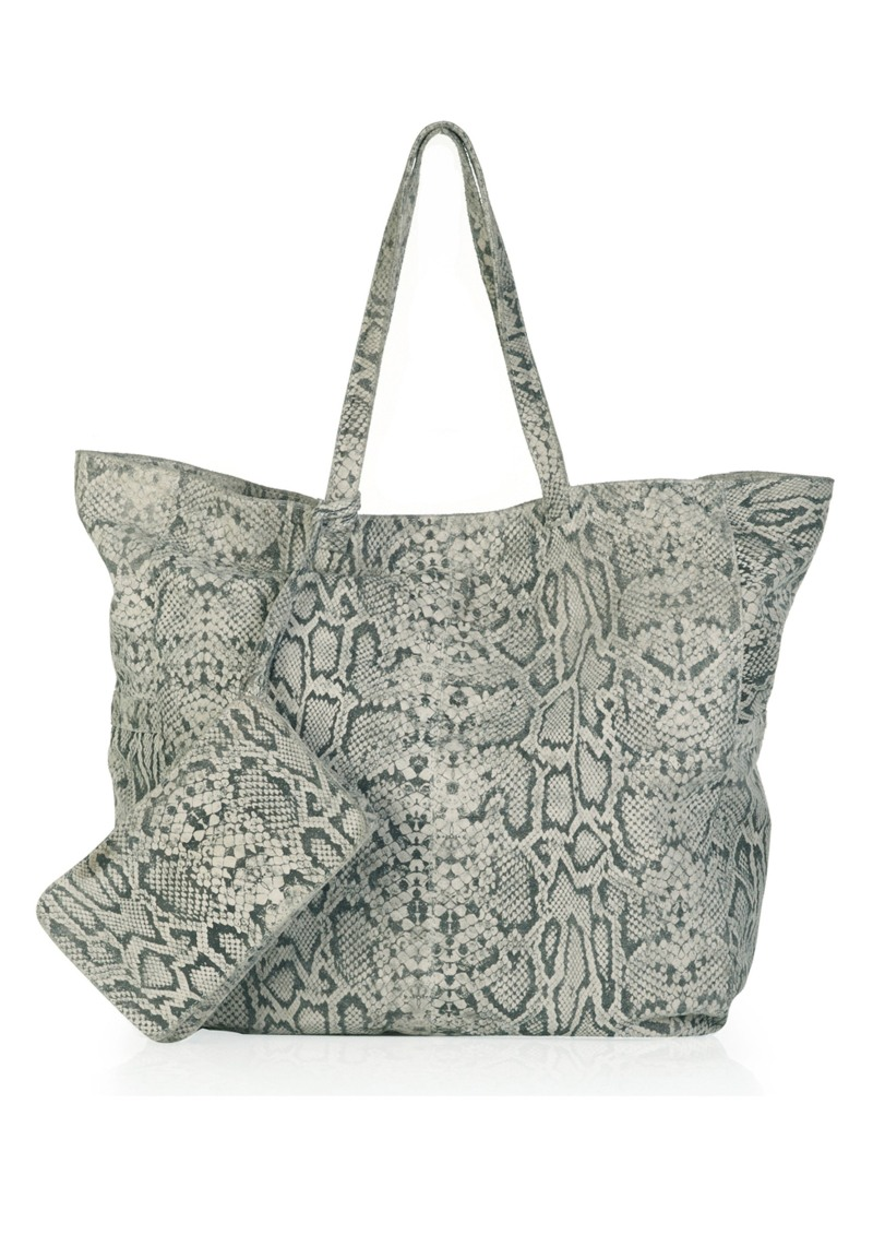 Lily and Lionel Snake Tote bag