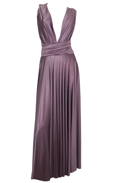 ButterbyNadia long gown - cavern