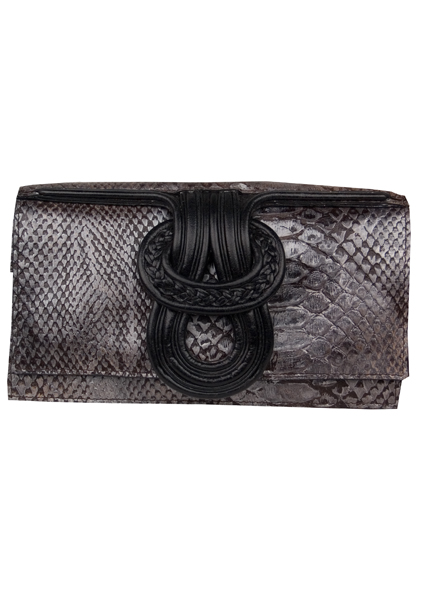 Cheet-Nell clutch-pewter
