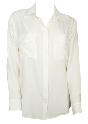 Equipment shirt nature white