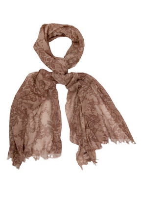 Mercy delta lace scarf