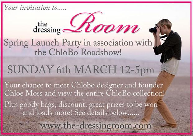Spring launch 2011 Invite