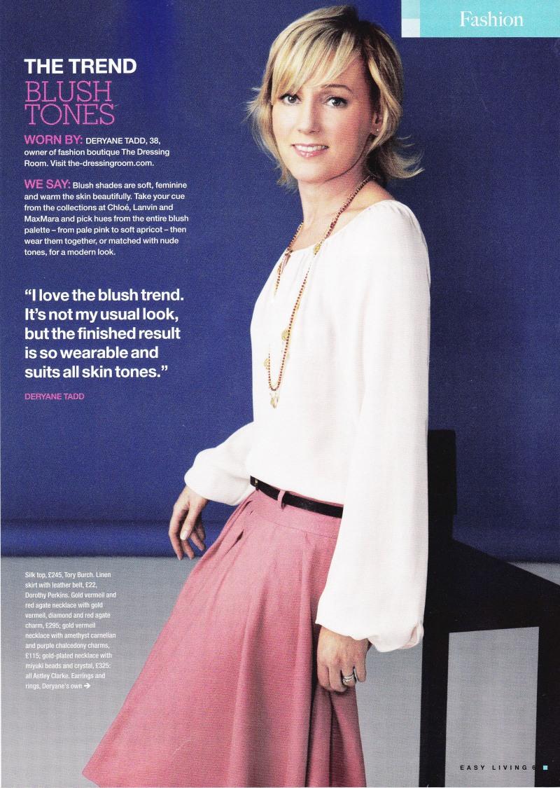 Deryane in Easy Living Magazine!