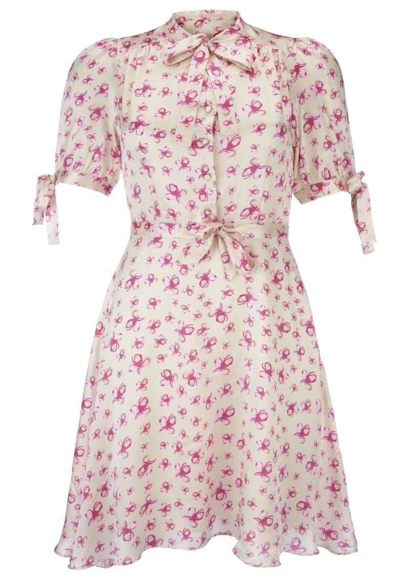 Mimi Dress Cream & Pink