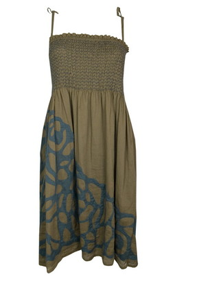 Antik Batik Mao sun dress