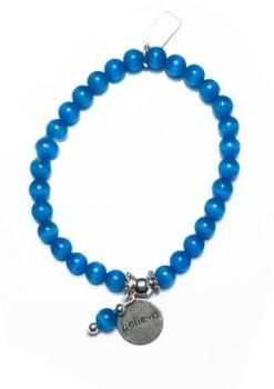 Wish charm bracelet
