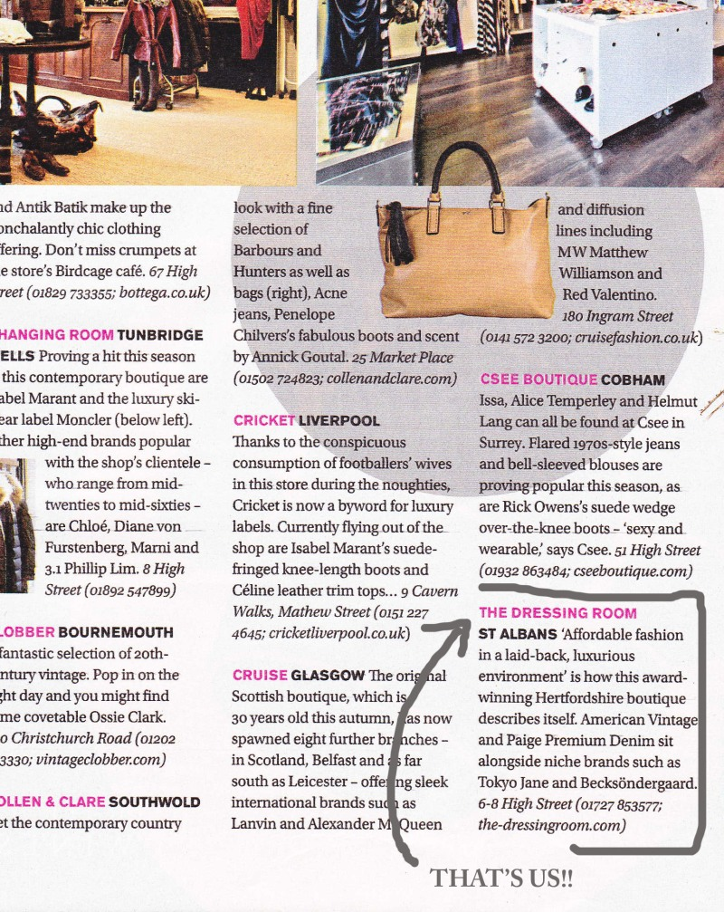 Us in 50 best boutiques!