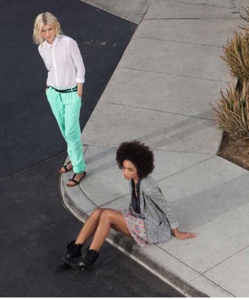 girls on pavement