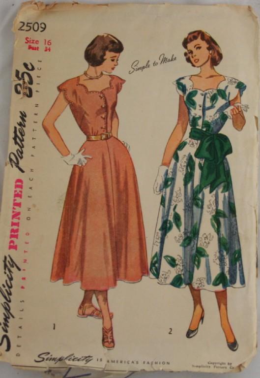 1947 pattern book
