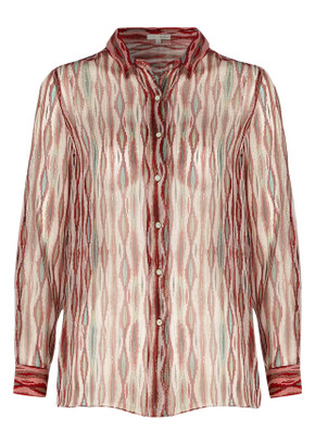 Ba&sh Bari silk shirt