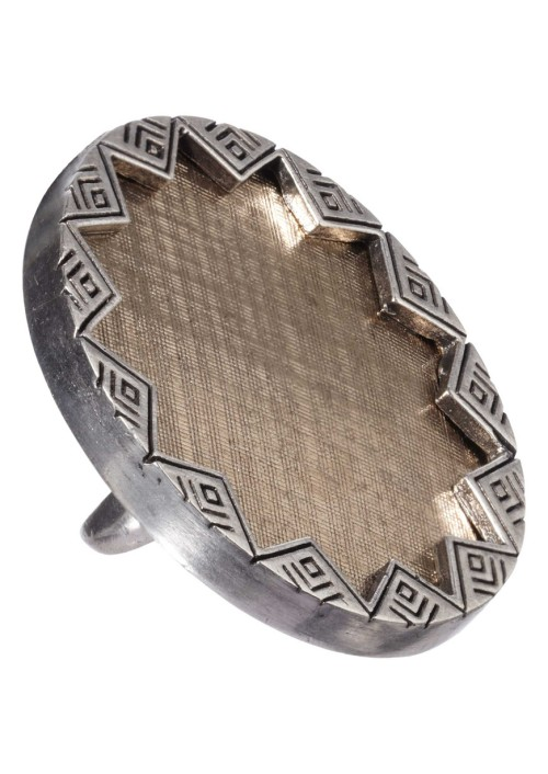 House-of-Harlow-Sunburst-Cocktail-Ring-Silver