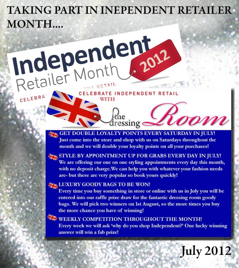 Independent retailer month