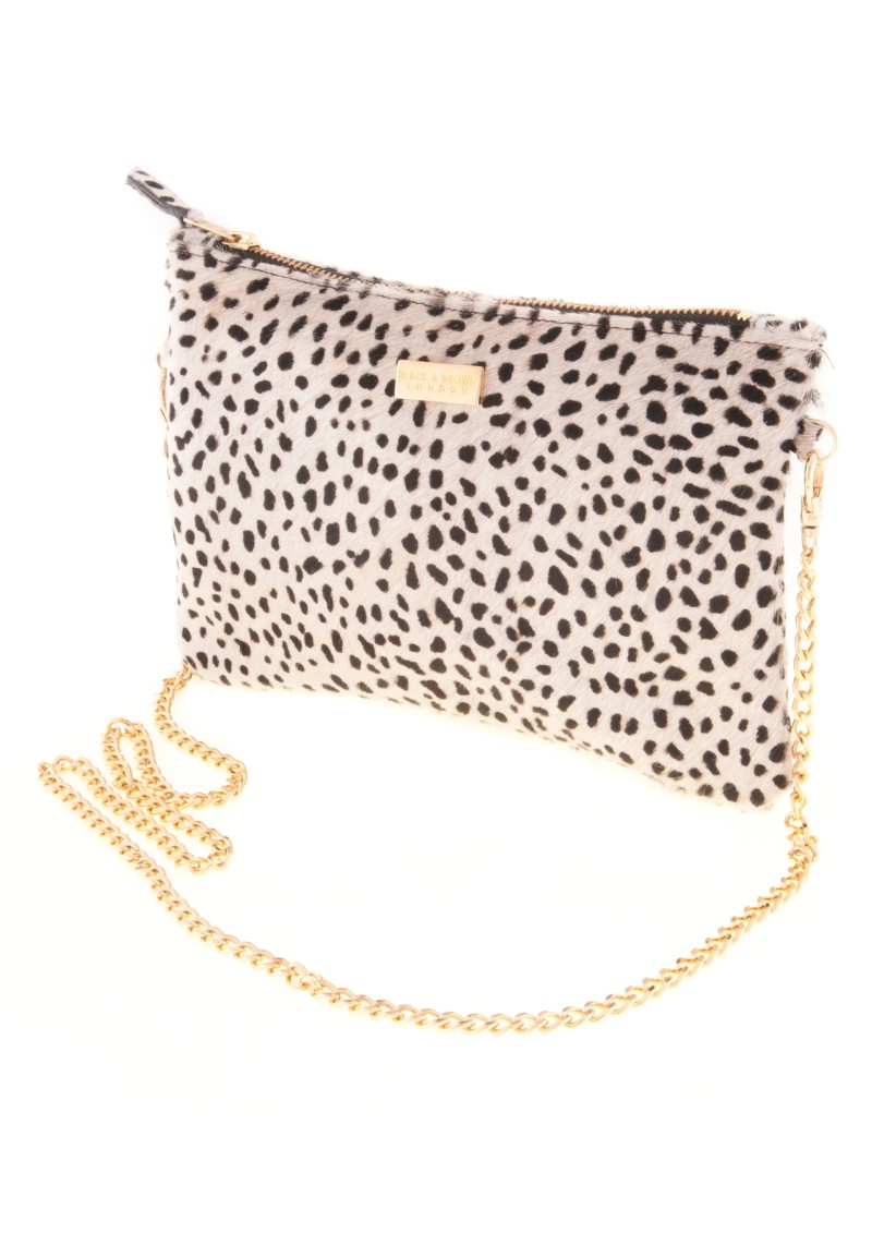 Lyla CLutch Bag in Cheetah
