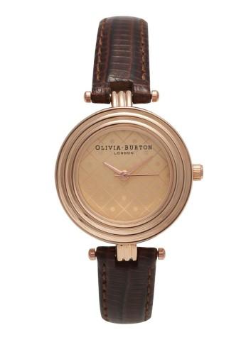 Olivia Burton Modern Vintage Watch in Cognac