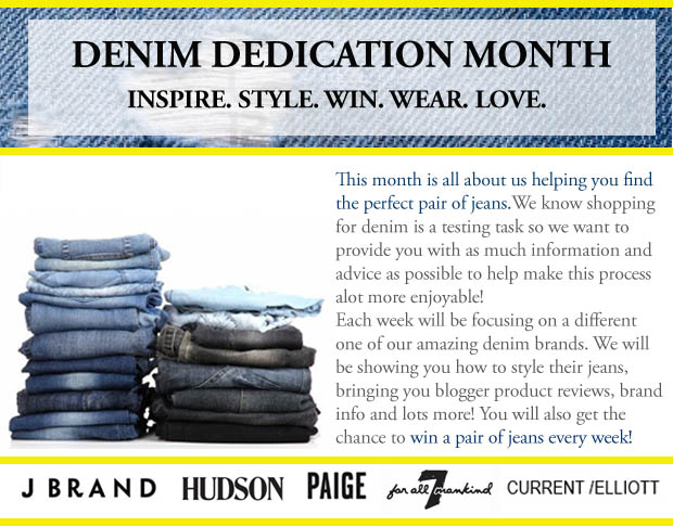 Denim Dedication month intro