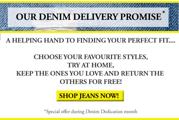 Denim delivery promise