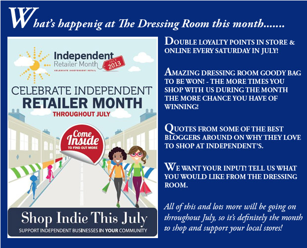 Celebrate all things great about shopping Independent with us this month!