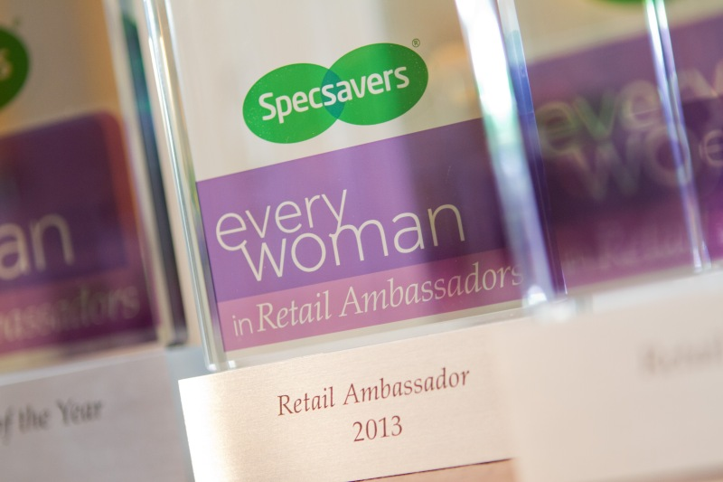 Everywoman Retail Ambassadors award 2013