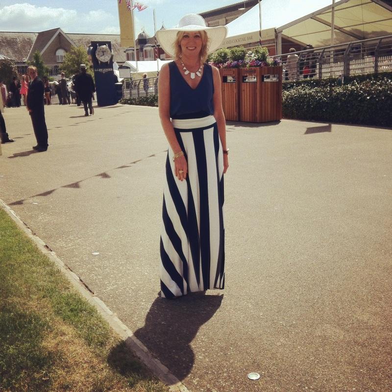 Deryane's winning Ascot Outfit!