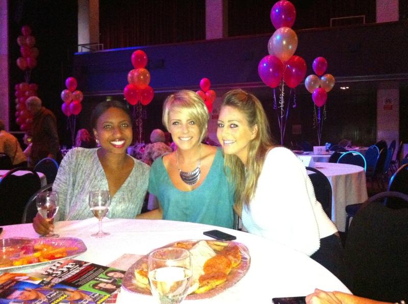 Sam, Amy & Yasmin!