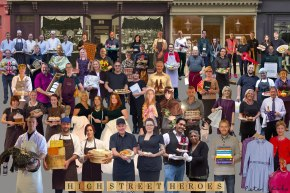 SIR PETER BLAKE UNVEILS NEW ARTWORK CELEBRATING NATION OF SHOPKE
