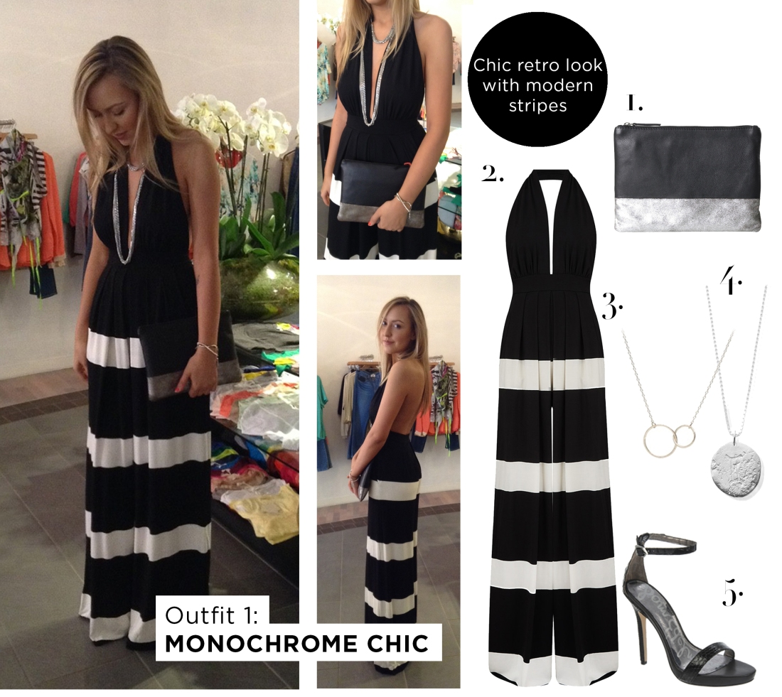 Outfit 1 - Monochrome Chic