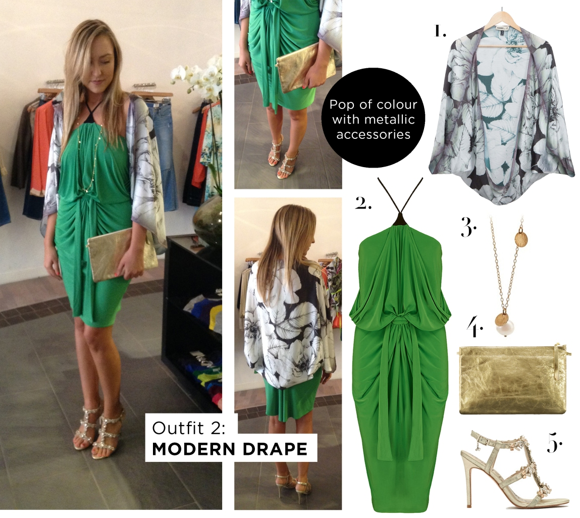 Outfit 2 - Modern Drape