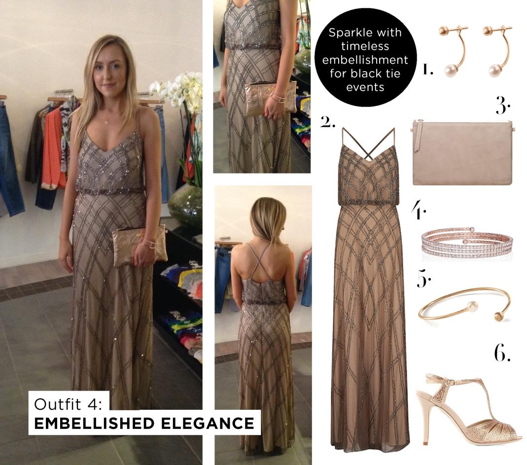 Outfit 4 - Embellished Elegance