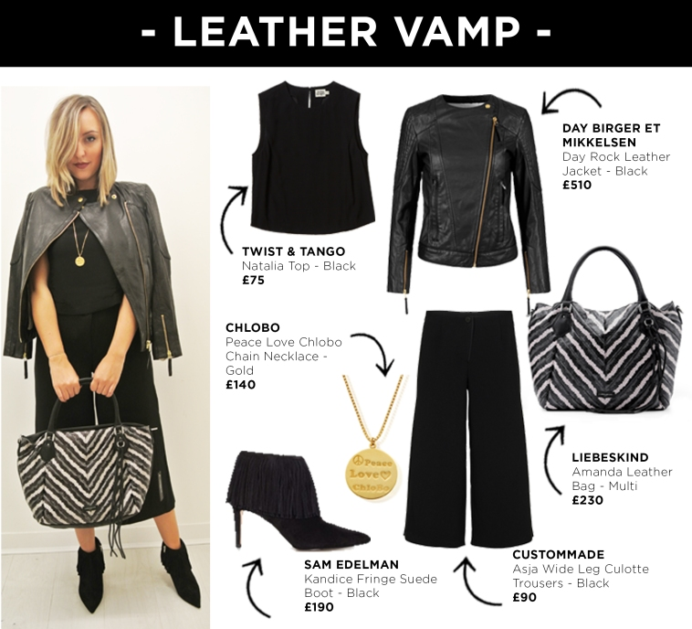 Look 3 - Leather Vamp
