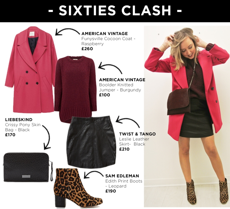 Look 4 - Sixties Clash