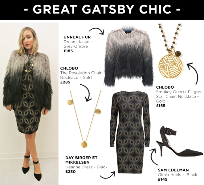 Look 5 - Great Gatsby Chic