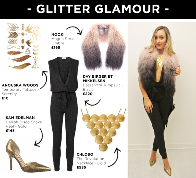 Look 6 - Glitter Glamour