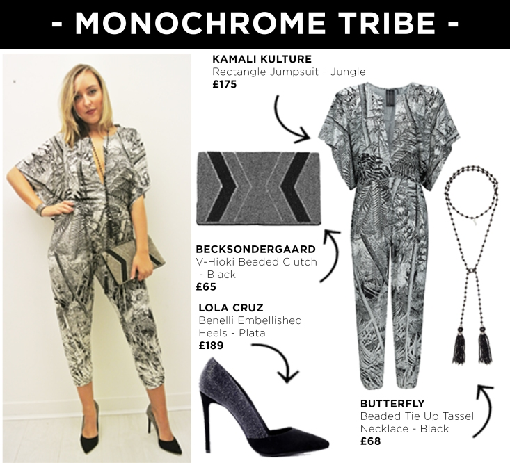 Look 7 - Monochrome Tribe