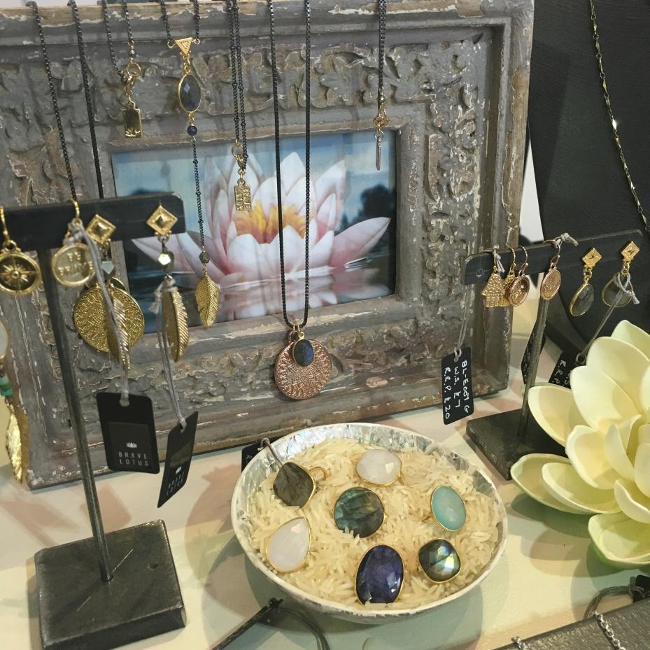 Lotus display at Pure London